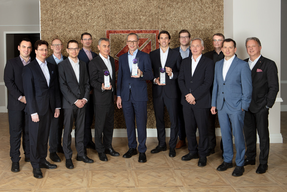 The Board of Kathrein Privatbank with the Portfolio Management Team and the Sales Directors